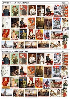 Iosif Stalin Propaganda Posters Wwii Second World War 1/35 Gradevole Al Gusto