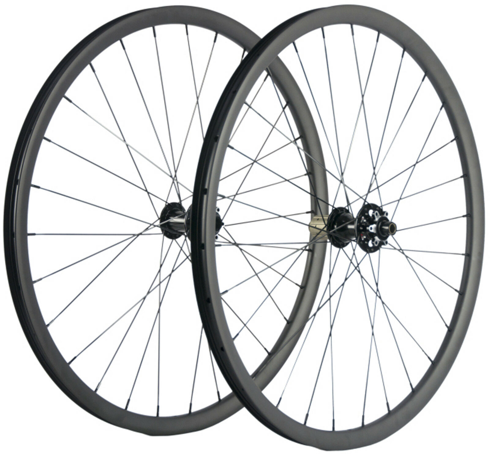 MTB Carbon Wheels Wheelset 27.5ER 27mm Width Tubeless Mountain Bike 700C XC