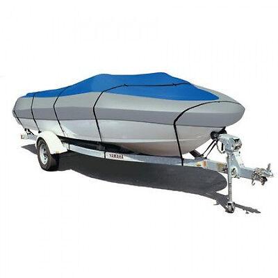 Heavy Duty Waterproof Trailerable Boat Cover (12'-14' V-Hull Aluminum Fishing)