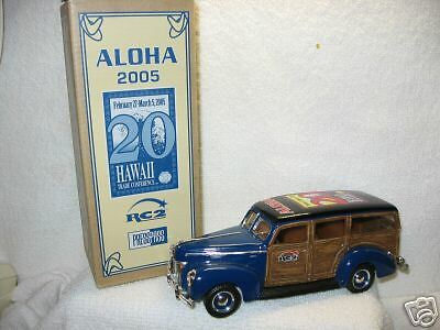 2005 Hawaii Conference 1940 WOODY WAGON ERTL RARE