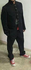 Abito-maschile-cerimonia-giacca-pantalone-elegante-classico-sposo-uomo-nero-5254