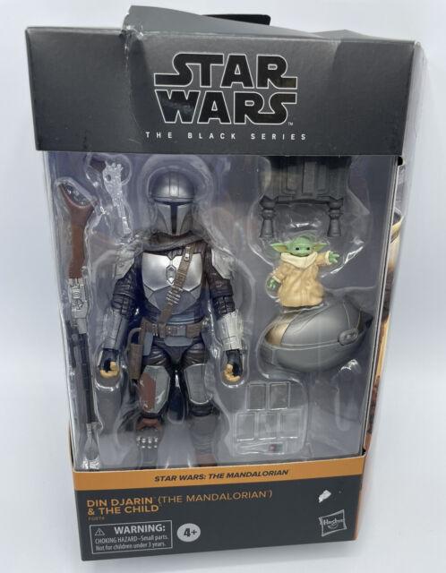 Star Wars The Black Series: Din Djarin and The Child - NEW DAMAGE BOX