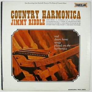 JIMMY RIDDLE Country Harmonica LP COUNTRY NM- NM-