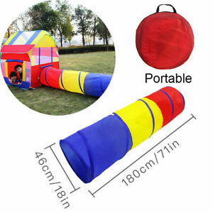 Play Tent Tunnel Castle House Toys Gift