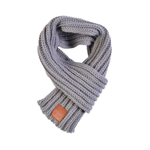 Boy Girl Baby Winter Solid Color Scarf Warm Knitting Wool kid Neck Wraps Scarves