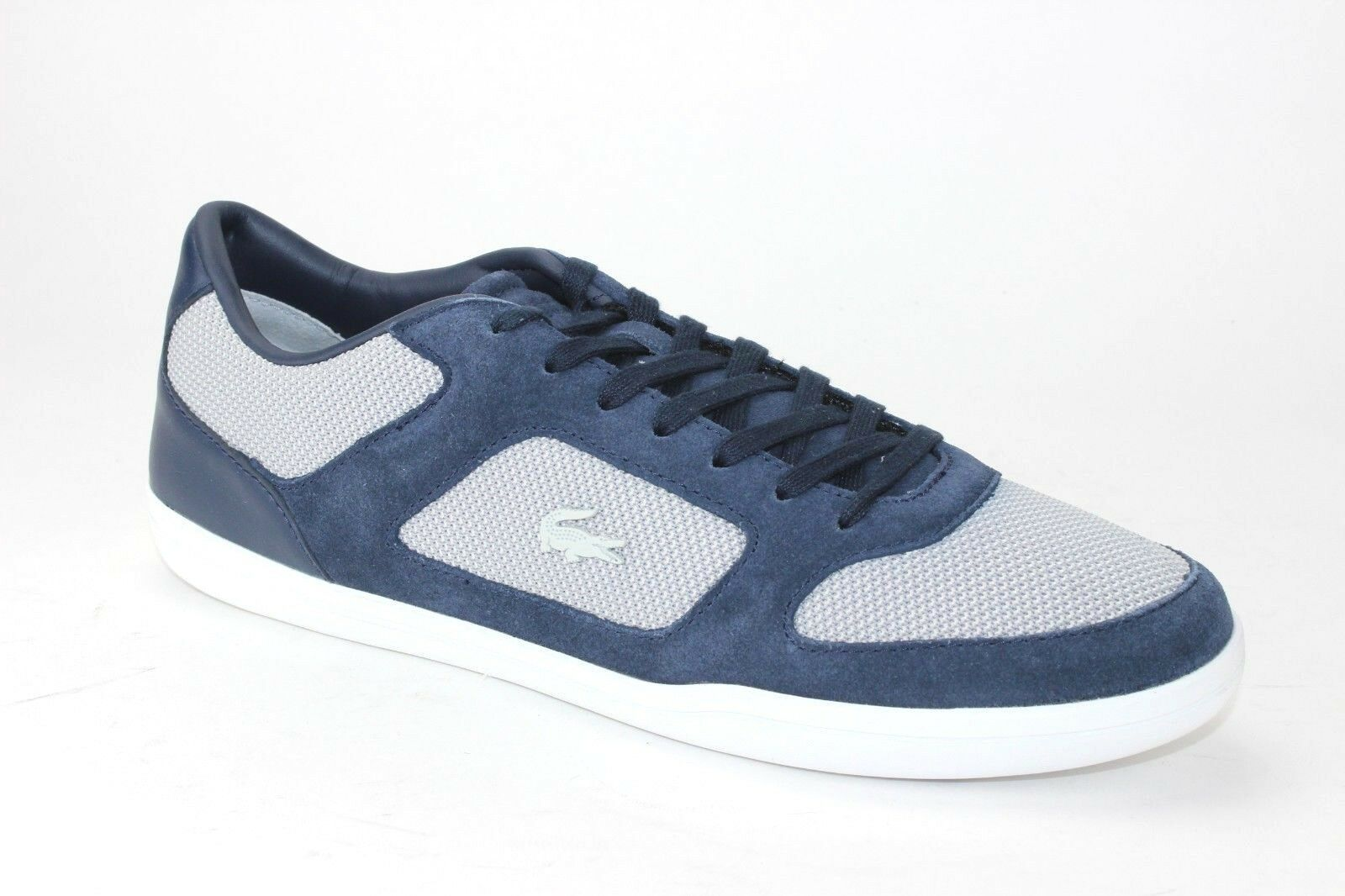 Lacoste Court-Minimal 217 1 Cam Mens bluee Suede Sneakers shoes 9.5
