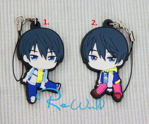 Iwatobi Swim Club Nanase Haruka Keychain Rubber Strap COS Gift Japan Anime Free