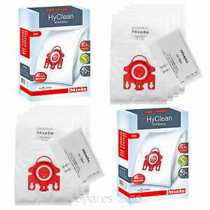 Genuine Miele FJM Vacuum Cleaner Hoover Dust Bags C2 C1 Compact Complete x 4