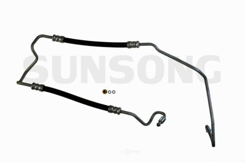 Power Steering Pressure Line Hose Assembly fits 2004-2007 Cadillac CTS  SUNSONG