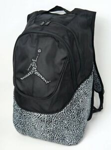 e62c4341e582 Nike Air Jordan Jumpman Backpack 9A1414-023 Black White Elephant ...