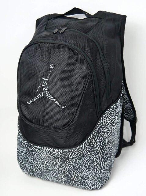 509670ac276 Nike Air Jordan Jumpman Backpack 9A1414-023 Black White Elephant Laptop $60  NEW