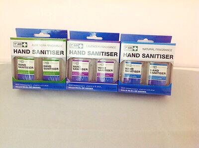 7x Hands Sanitizer Sanitiser Antibacterial Picnic/Camping/Outdoors