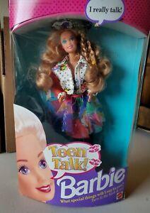 Teen-Talk-Barbie-Doll-5745-opened-Box-1991-Mattel