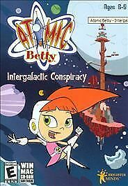 Atomic Betty Intergalactic Conspiracy Win Mac Game New 612761610925 Ebay