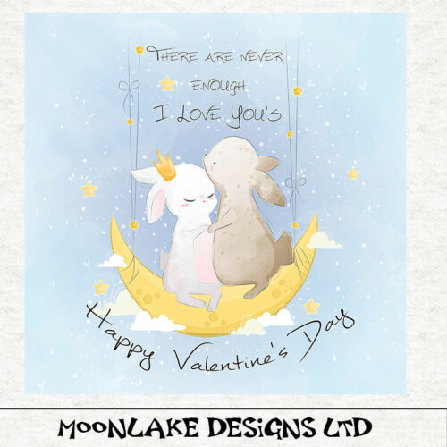 Día de San Valentín panel de tela de conejoCoserCraft panelAcolchadoAmor