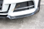 ABS For 2017 2018 Audi A3 S3 Carbon Fiber Front Bumper Lip Spoiler Cover