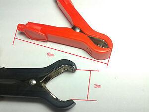 20 PCS high quality 30A Car battery clip Alligator clips Pliers cables test