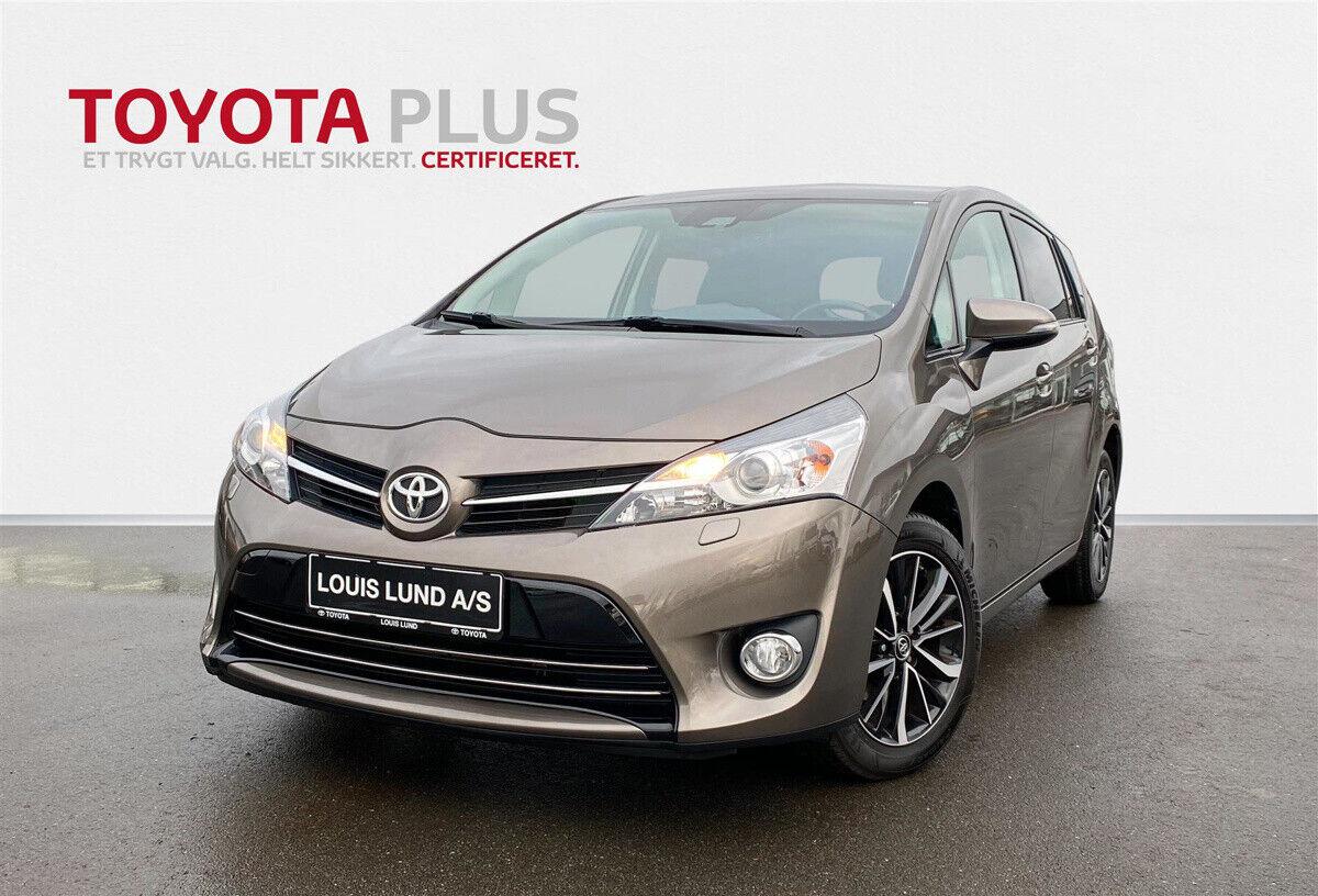 Toyota Verso 1,8 VVT-i T2 Premium 7prs 5d - 209.900 kr.