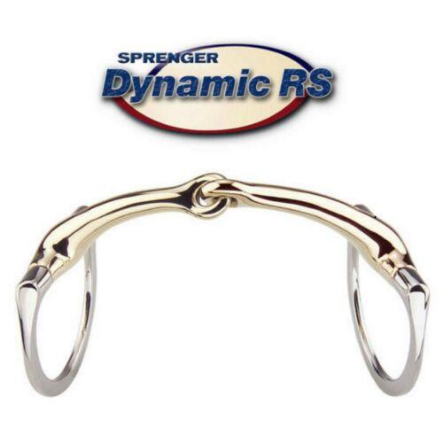 Sprenger Dynamic RS Single Joint Eggbutt Snaffle Sensogan All Sizes 40408