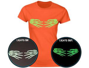 Camiseta Swagwear «Hands off my Pumpkins» brilla en la