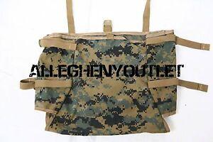 USMC ILBE MarPat RADIO UTILITY POUCH Gen 2 Tan for ILBE Mainpack NEW