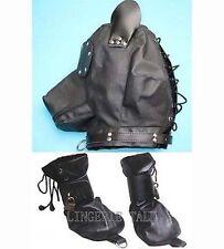 Full Puppy Hood Plus Lockable Dog Fist Costume Restraints Set Adult DH H482+H419