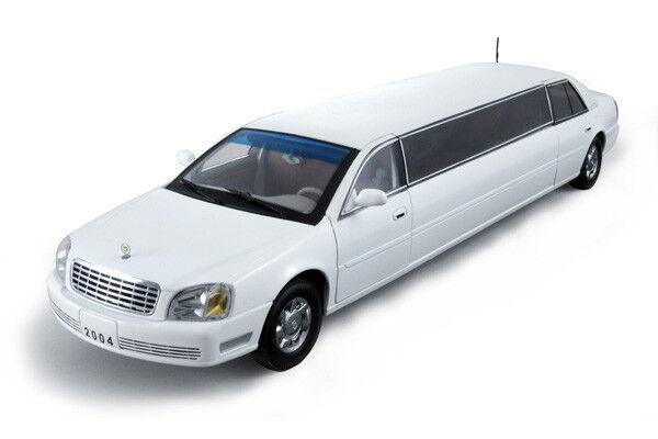 Cadillac Deville Limousine 2002 bianca 1:18 Model 4232 SUN STAR