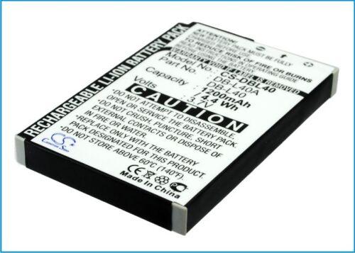 Batería Para Sanyo Xacti Vpc-hd1 Xacti Vpc-hd2 Db-l40au Db-l40 Xacti Vpc-hd1ex Vp