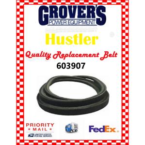 Hustler Raptor /& Raptor SD Hydro drive belt  603907  607400 MADE IN USA