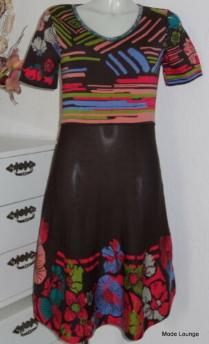 Ivko knitwear Strick-Kleid Dress with stripe details Jacquardmuster Blüten 61521