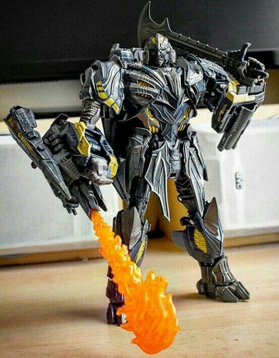 Transformers Hasbro Premier Leader Megatron the last knight mv5