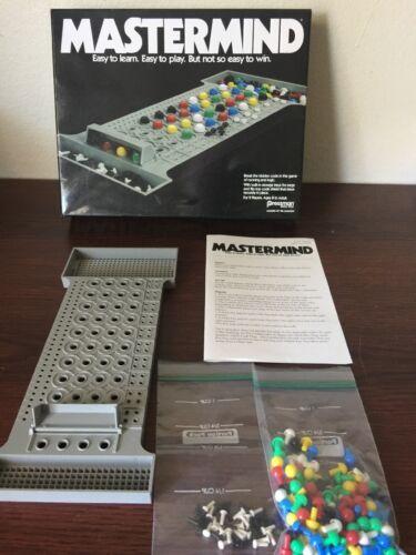 Retro Mastermind Board Game By Pressman New Factory Sealed Break the Code 2015
