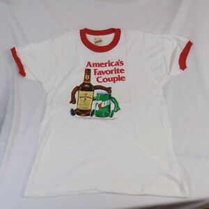 Segram-039-s-7-amp-7-T-Shirt-Segrams-7-Crown-amp-7-Up-NEW-by-Screen-Stars-Made-in-U-S-A