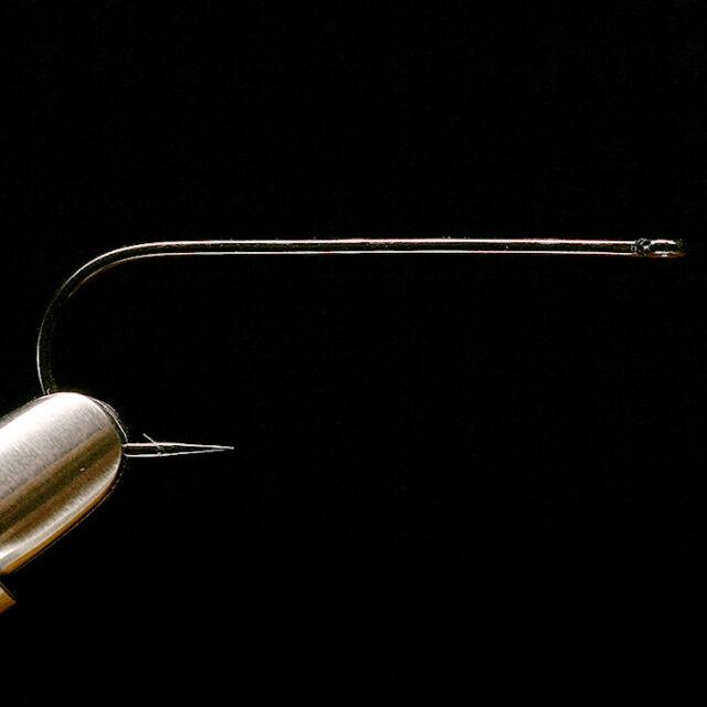 Long Shank Black Aberdeen Fly Tying Hooks DAIICHI 2461 HOOK NEW!