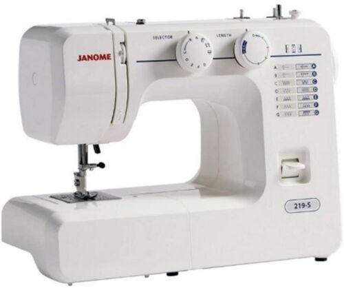 2 Year Warranty Perfect Starter Machine Janome 219-S Mechanical Sewing Machine