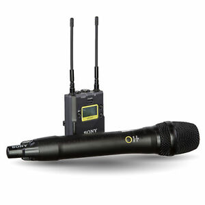 sony uwp d12 30 integrated digital wireless handheld microphone eng system ebay. Black Bedroom Furniture Sets. Home Design Ideas