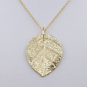 New-Women-039-Fashion-Jewelry-Retro-Sweater-Chain-Long-Gold-Plated-Leaves-Necklace
