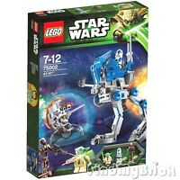 Lego Star War 75002 At-rt Clone Walker 501st Trooper Yoda Sniper & Droid