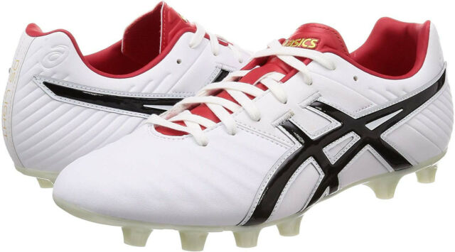 ASICS Soccer Football Spike Shoes DS LIGHT WD 2 SI White Onyx US8 26cm