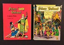 PRINCE VALIANT Vol 1 & Companions in Adventure HC Books King Arthur Comic Strip