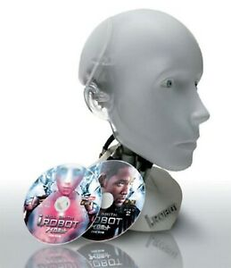 Movie-i-Robot-Sunny-Head-Figure-DVD-Collector-Edition-Box-Set-JAPAN-USED
