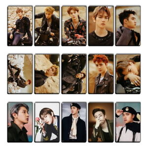 Kpop Exo 5th Album Dont Mess Up My Tempo Photocard Crystal Card