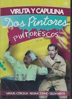 Dos Pintores Pintorescos Dvd Viruta Y Capulina Miguel Corcega Sealed