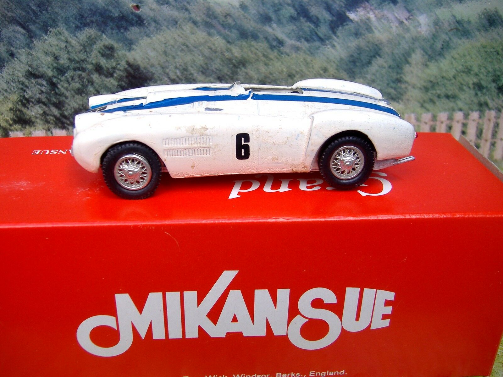 1 43 Mikansue Competition (England) Ferrari LM 1954  Handmade White Metal  Kit