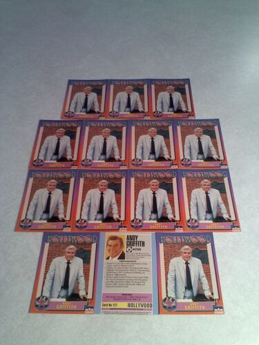 *****Andy Griffith***** Lot of 14 cards / Hollywood Walk of Fame