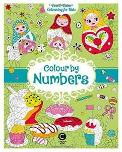 Cool-Calm-Colouring-for-Kids-Colour-by-Numbers-by-Eugenie-Varone-NEW-Book-Pa