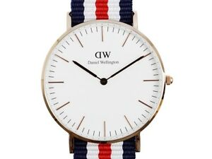 Daniel-Wellington-Canterbury-36mm-Women-039-s-GOLD-Watch-0502DW-RRP-249