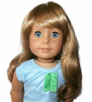"Custom Doll Wig 10-11"" Blonde - Fits JLY 3 6 12 20 32 51 52"