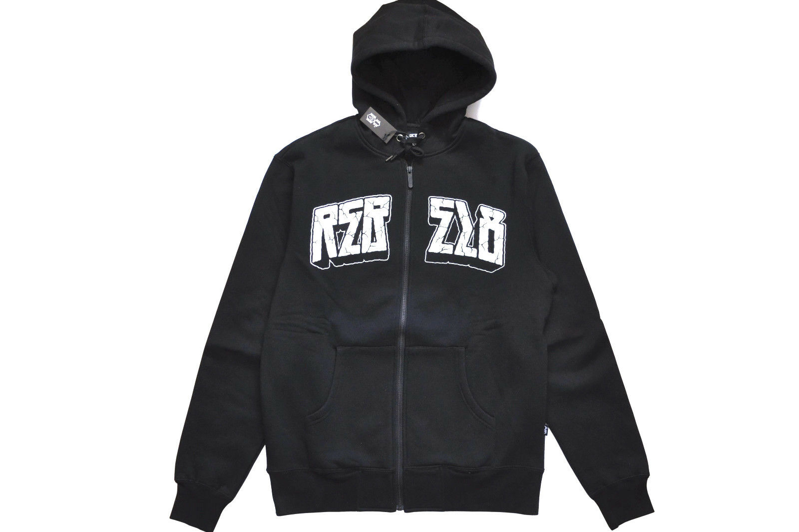 REBEL EIGHT CLASSIC R8 LOGO ZIPUP HOODIE MIKE GIANT AUTHENTIC IMPORTED FROM USA