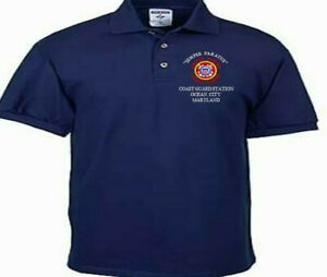 COAST-GUARD-STATION-OCEAN-CITY-MD-EMBROIDERED-POLO-SHIRT-CREWNECK-T-SHIRT
